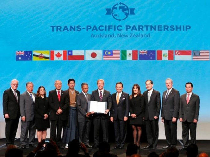 Trans Pacific Partnership The Free Trade Agreement Signed Retail